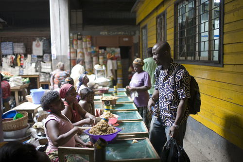 kaneshie-market-shopping photo